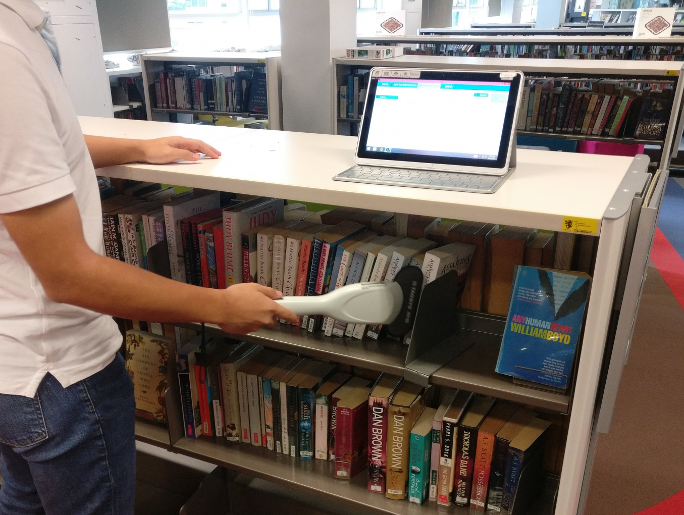 School library powered by RFID technology