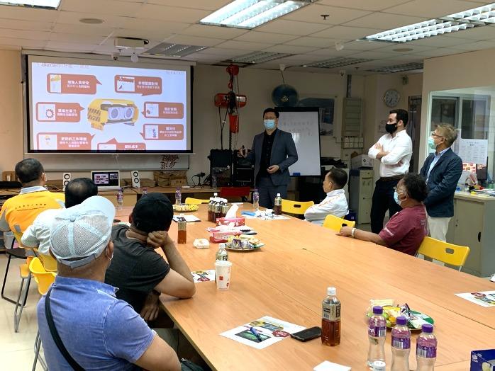 Blaxtair Presentation in Hong Kong Professional Hoisting Engineering Association on May 14 2021