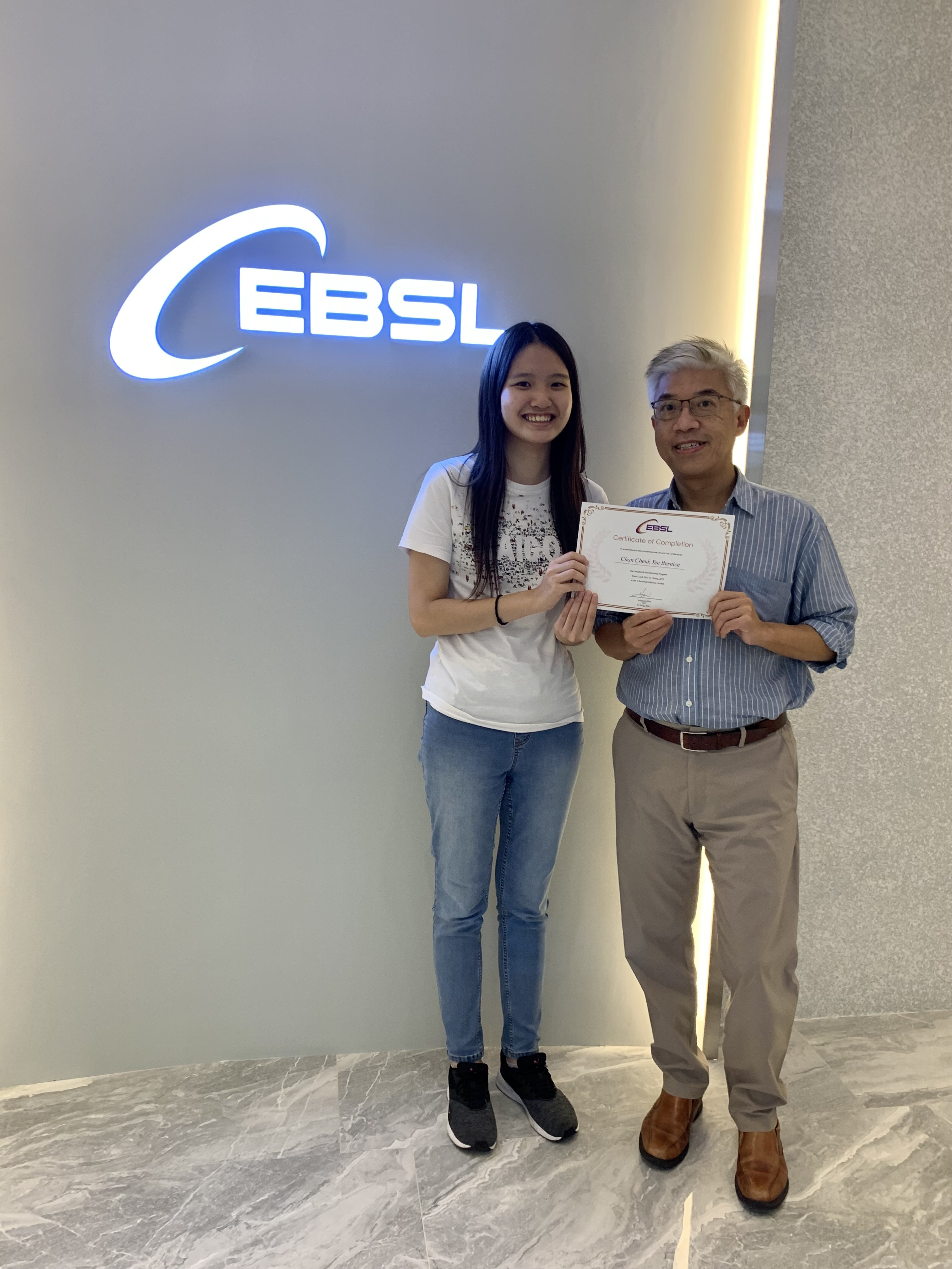 EBSL Internship Program 2021 – Paves the Way for Student's Future